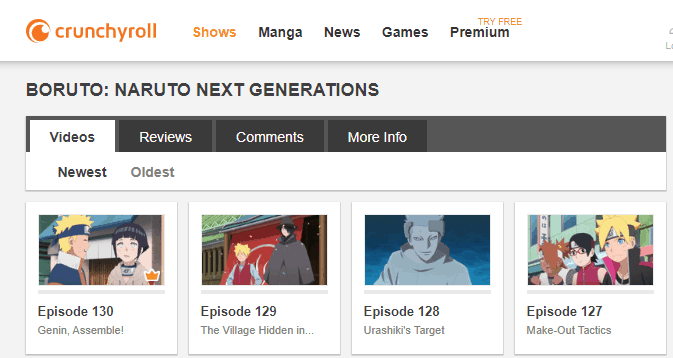 online anime streaming sites