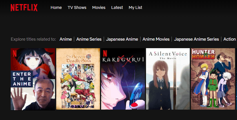anime online streaming sites
