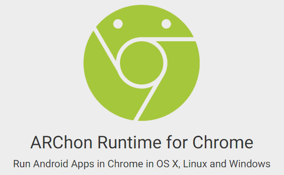 ARChon Android Emulator