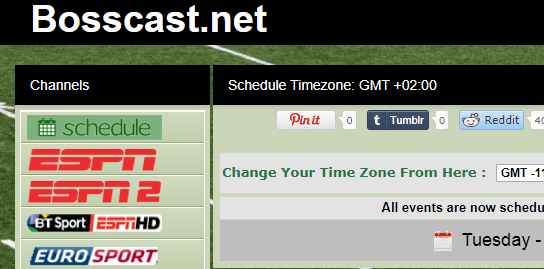 new sports streaming website