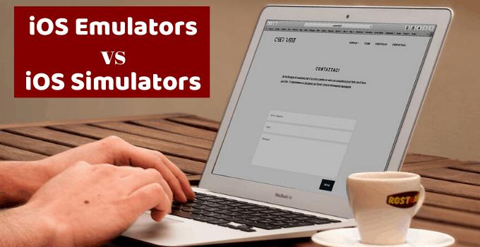 ios emulators vs. ios simulators