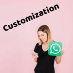 NSWhatsApp 3D Customization