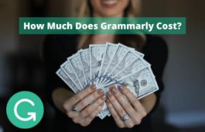Grammarly Cost