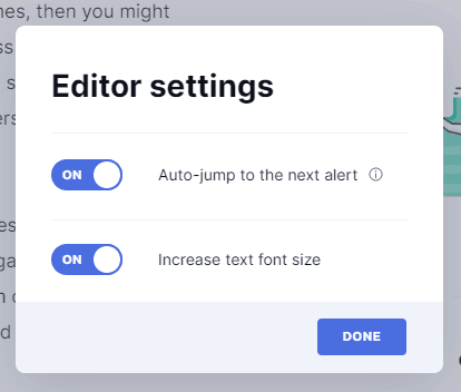 Grammarly Customization