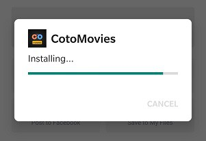 How to install CotoMovies?