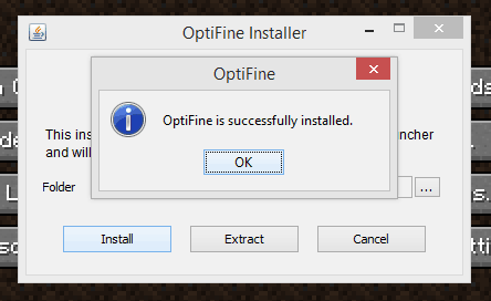how to install optifine?