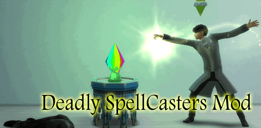 Deadly Spellcaster Mod Sims 4