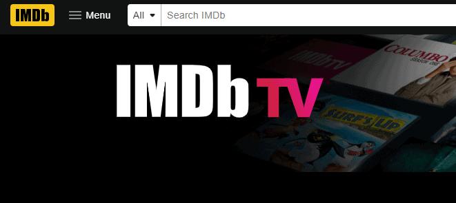 IMDb TV - Sites To Watch Movies Free