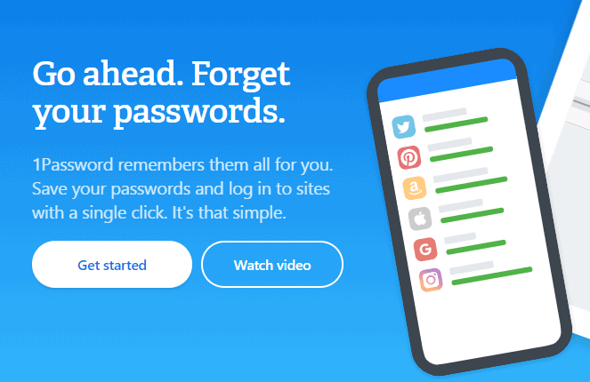 1Password Manager