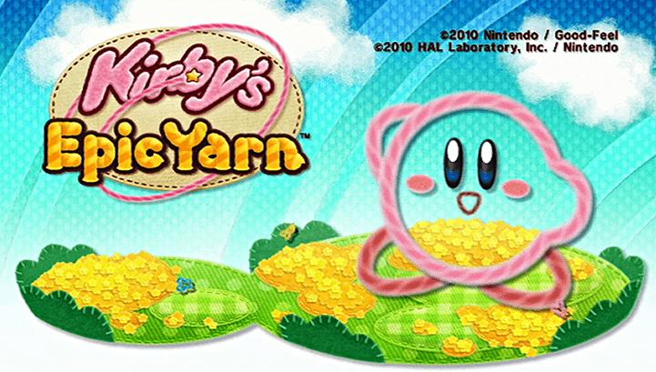 Wii Games Kirby's Epic Yarn
