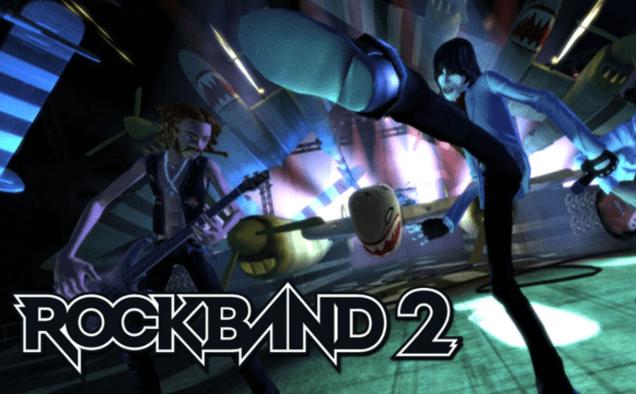 RockBand 2 Wii Games