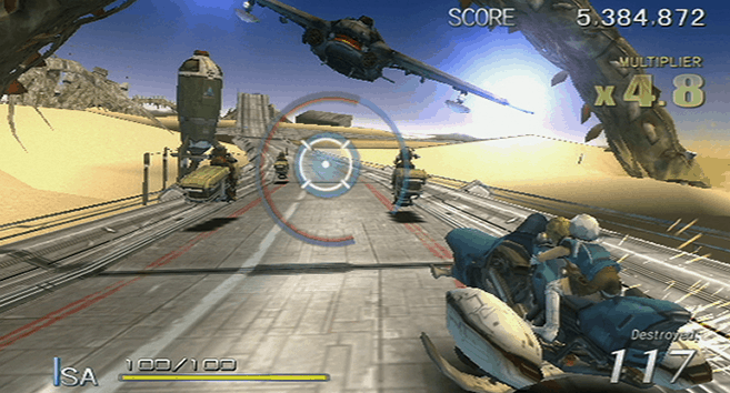 Sin and Punishment: Star Successor Wii Game