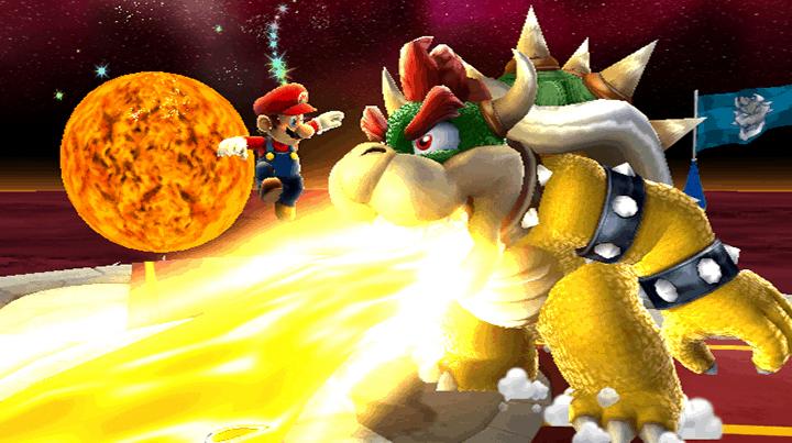 Super Mario Galaxy Wii Game