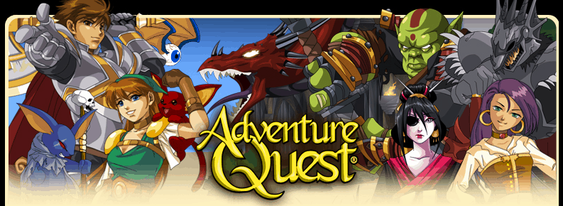 Adventure Quest Browser-Based Game