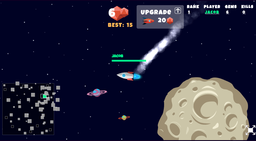Booster.Space Browser Game