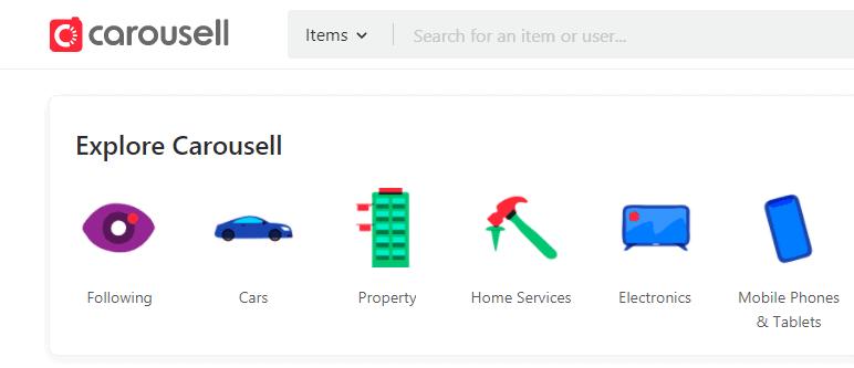 Carousell - Site Like Mercari.com