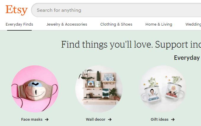 Etsy - App Like Mercari.com