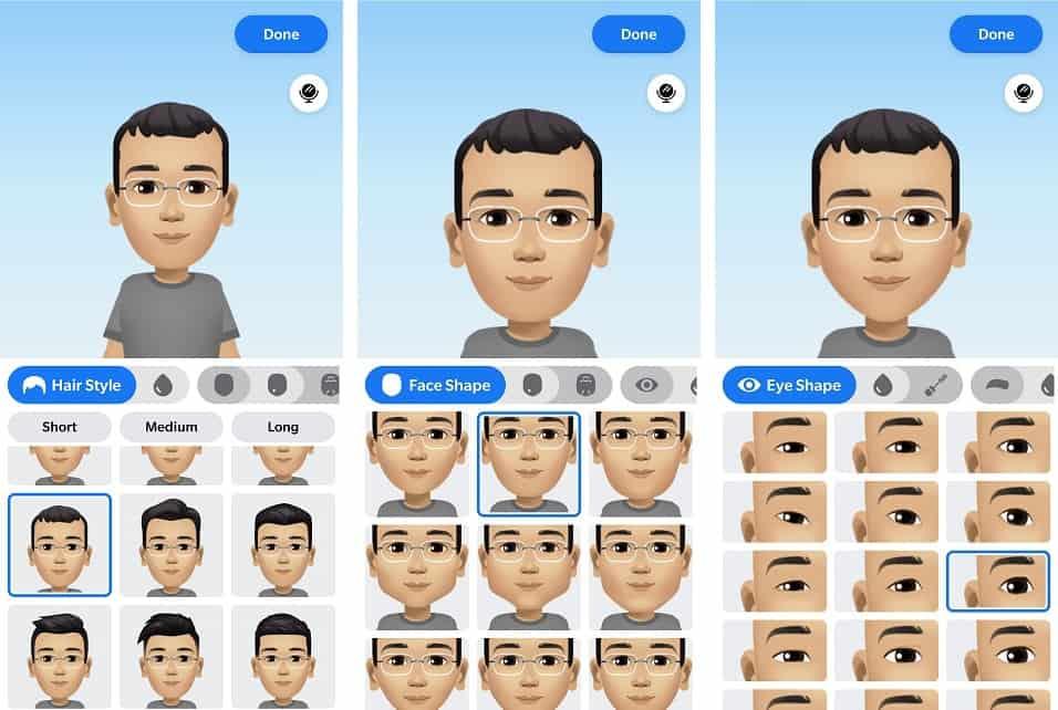 Facebook Avatar Customization