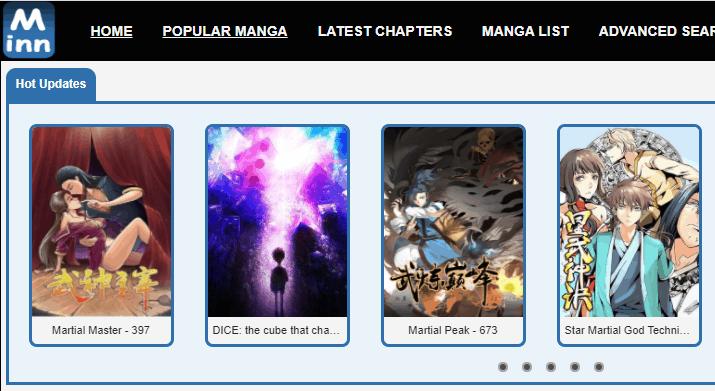 MangaInn - Best Manga Sites