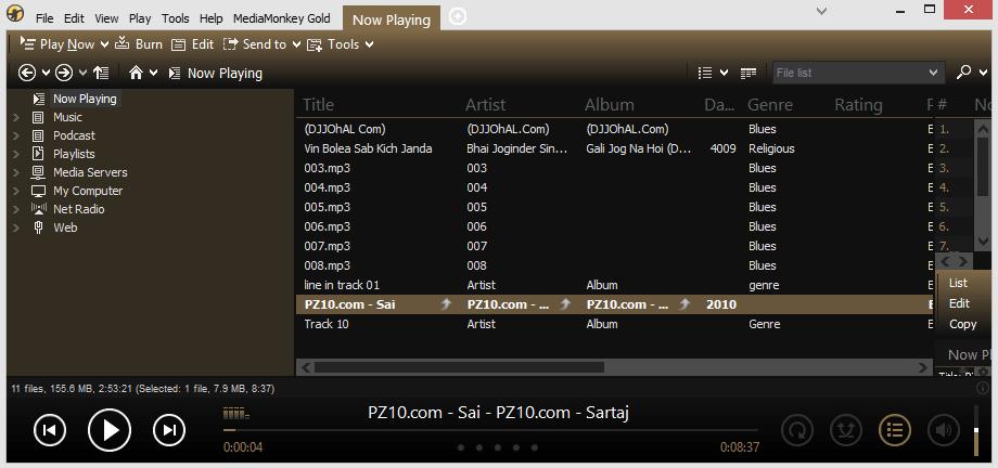 Media Monkey Music Player For Windows 10