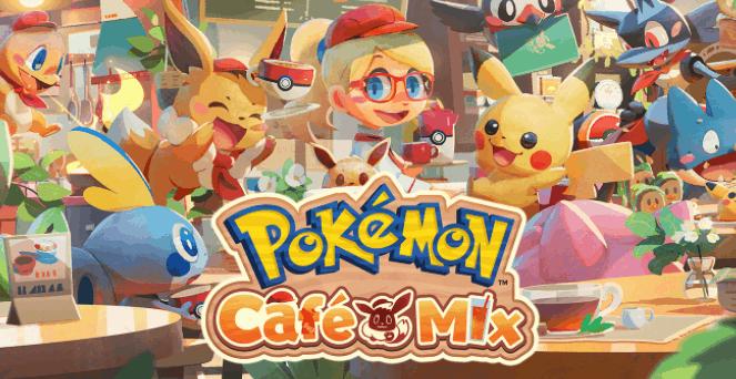 Pokémon Cafe Mix
