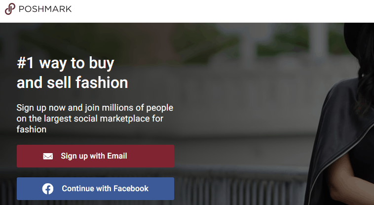 Poshmark.com - Website like Mercari.com