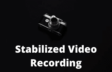Stabilized Video Recording Nomao Naked Camera