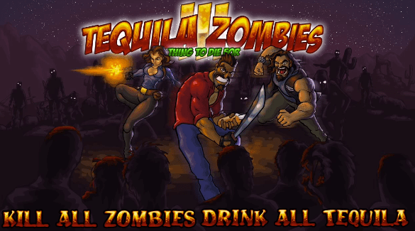 Tequilla Zombies 3 Browser Game