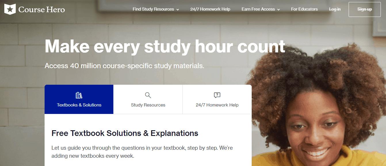 CourseHero.com - Alternative To Textsheet
