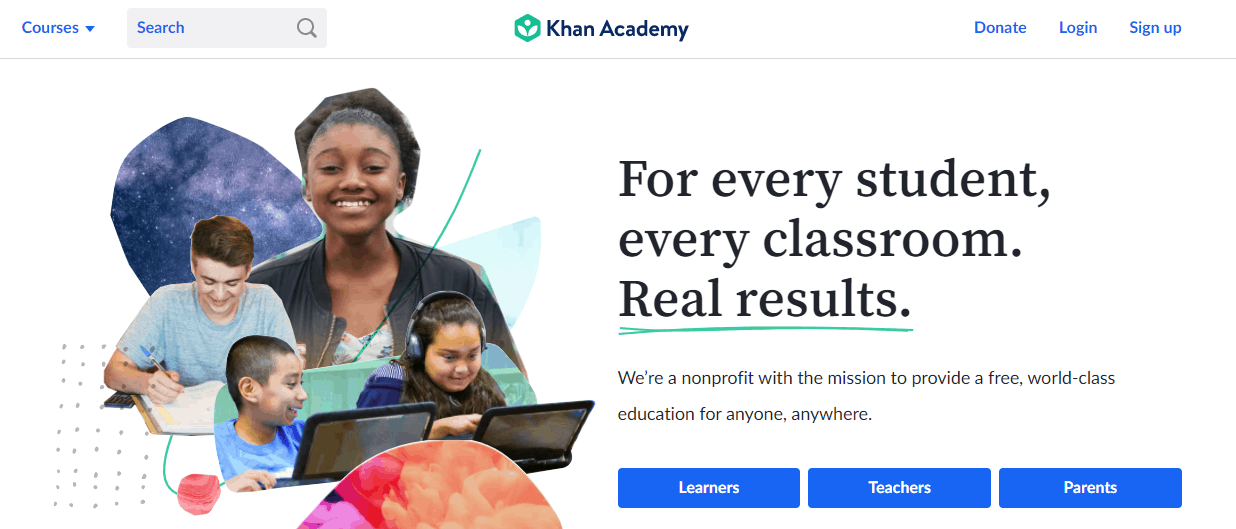 Khan Academy - TextSheet Alternative