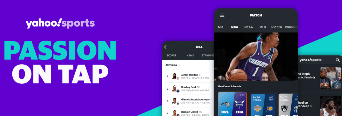 Yahoo! Sports App For Streaming NFL Matches