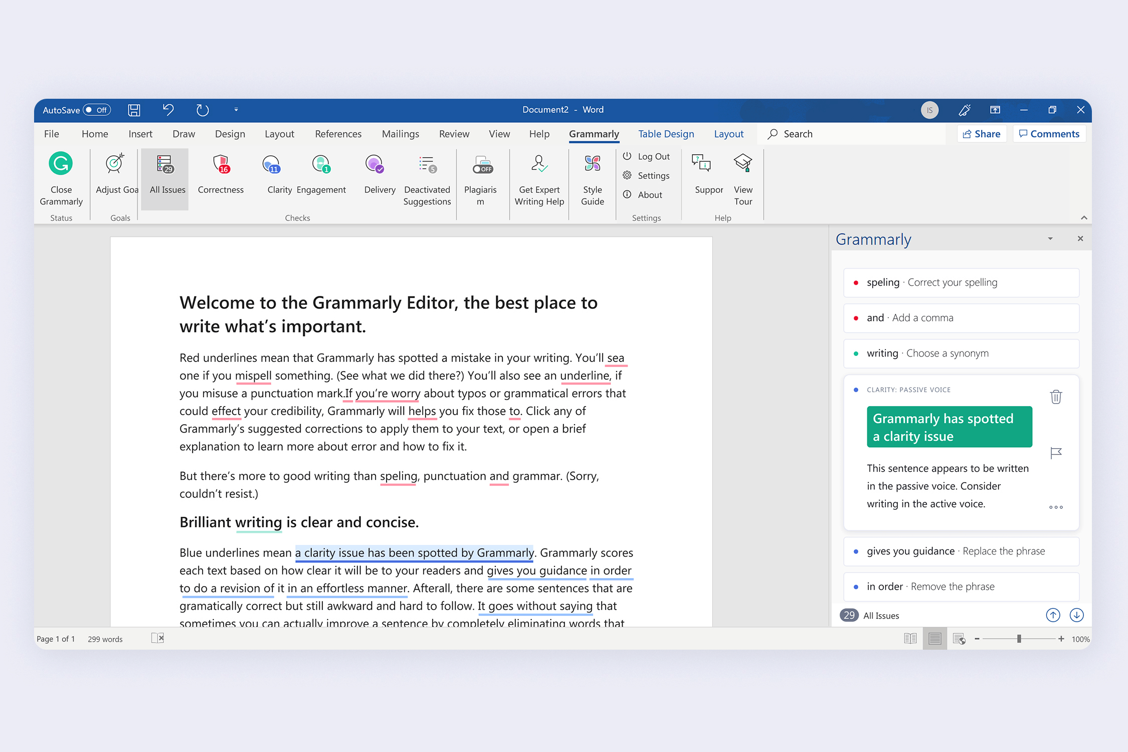 Download Grammarly For Word