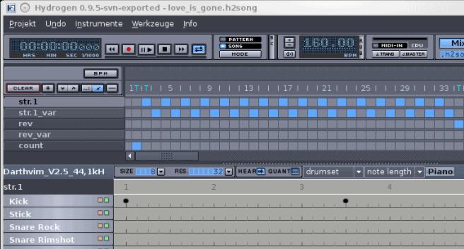Hydrogen Music Beat Making Software