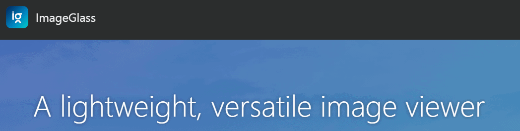 ImageGlass Windows Photo Viewer