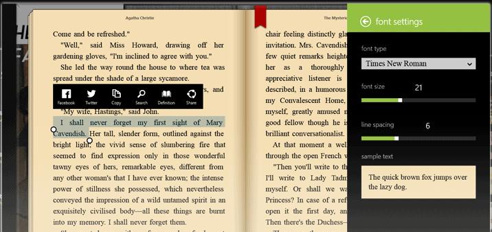 Bookviser ePub Reader Software
