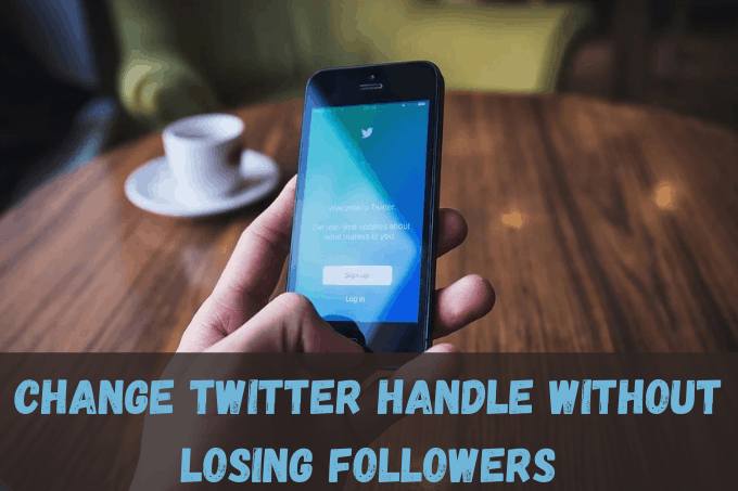 How to change Twitter handle / username without losing followers?