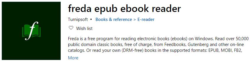 Freda ePub Reader