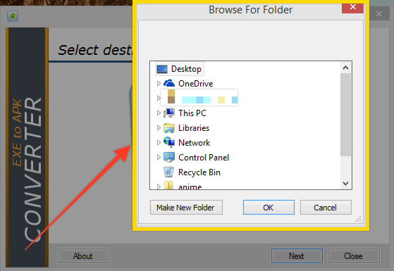 How To Convert EXE TO APK?