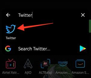 Launch Twitter