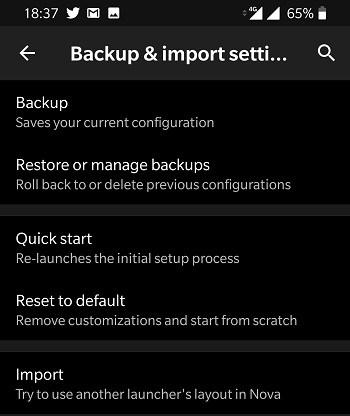 Nova Launcher Backup And Restore