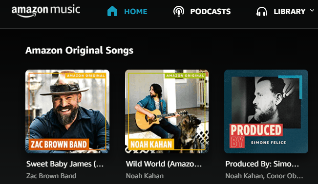 Amazon Music Unlimited Free Music Streaming Website