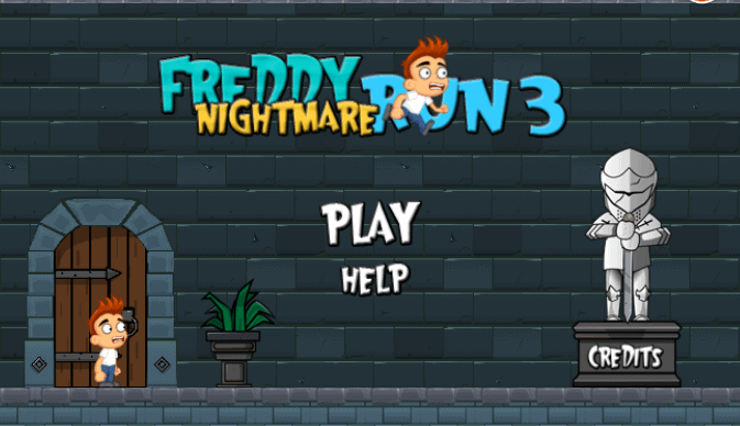 Freddy Run 3 Flash Game