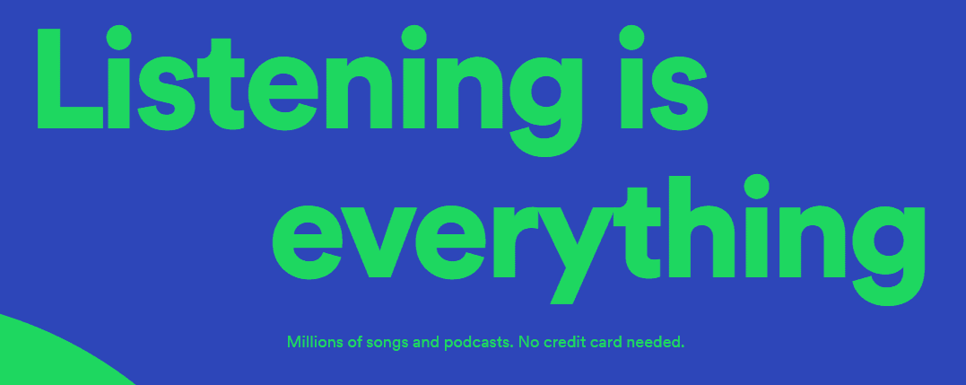 Spotify Music Streaming Website