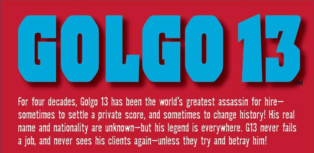 Golgo 13 - The Best Manga Of All Time