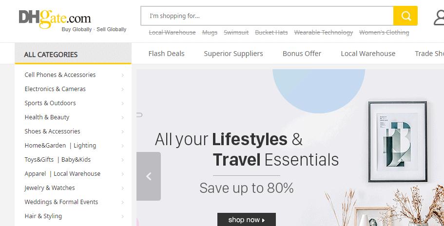 DHGate.com - Alibaba Alternatives