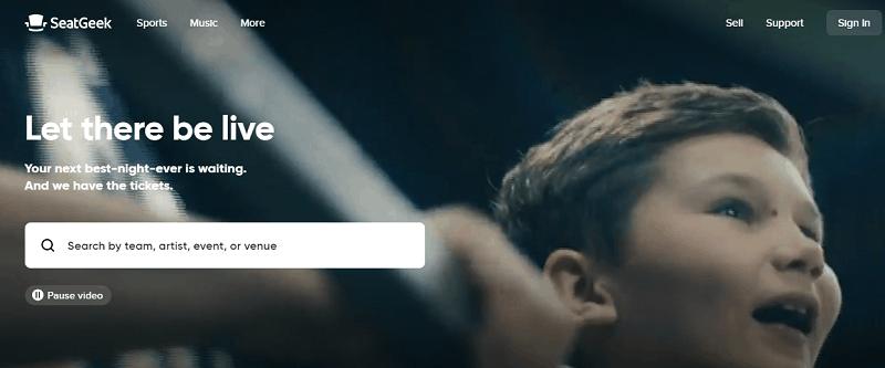 SeatGeek - Ticket Resale Website