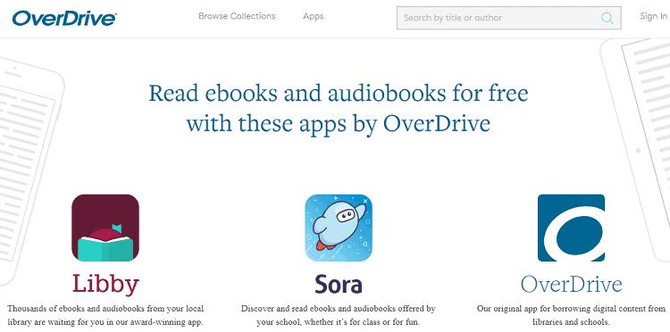 Overdrive Audiobooks