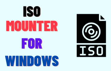 ISO Mounter For Windows