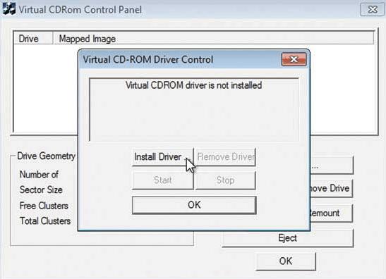 Microsoft Virtual CD ROM