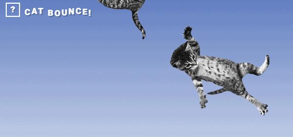 Weird Websites - Cat Bounce